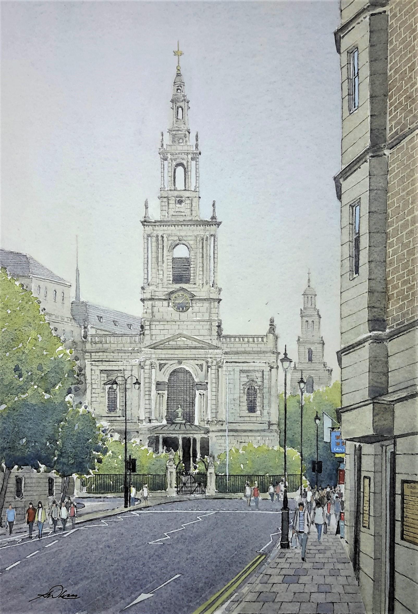 """"""" St Mary Le Strand """""""