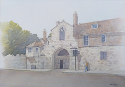 St Ann's Gate, Salisbury, England.