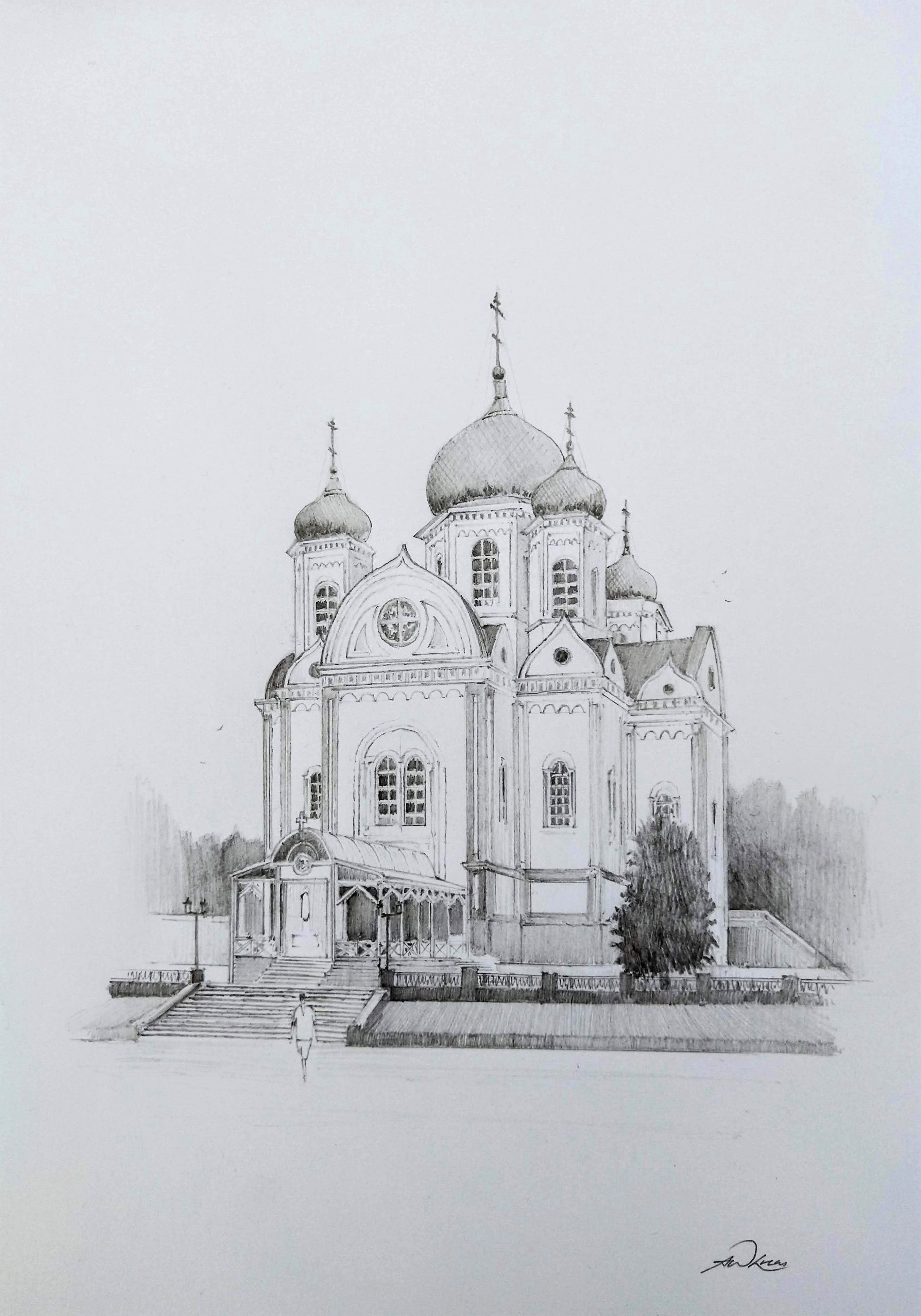 Alexander Nevsky Cathedral in Krasnodar.