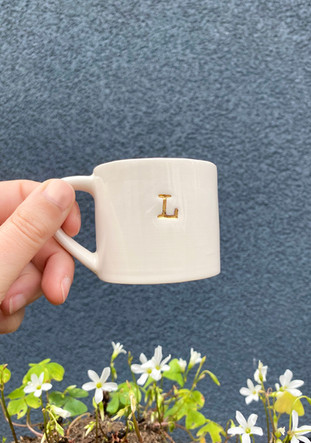 Monogram Espresso Cup