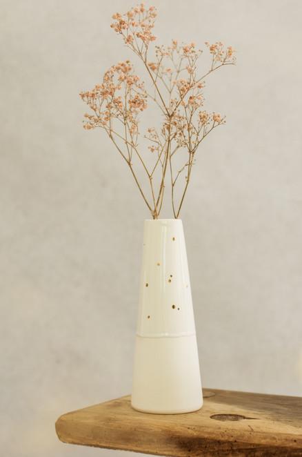Gold Dot Vase