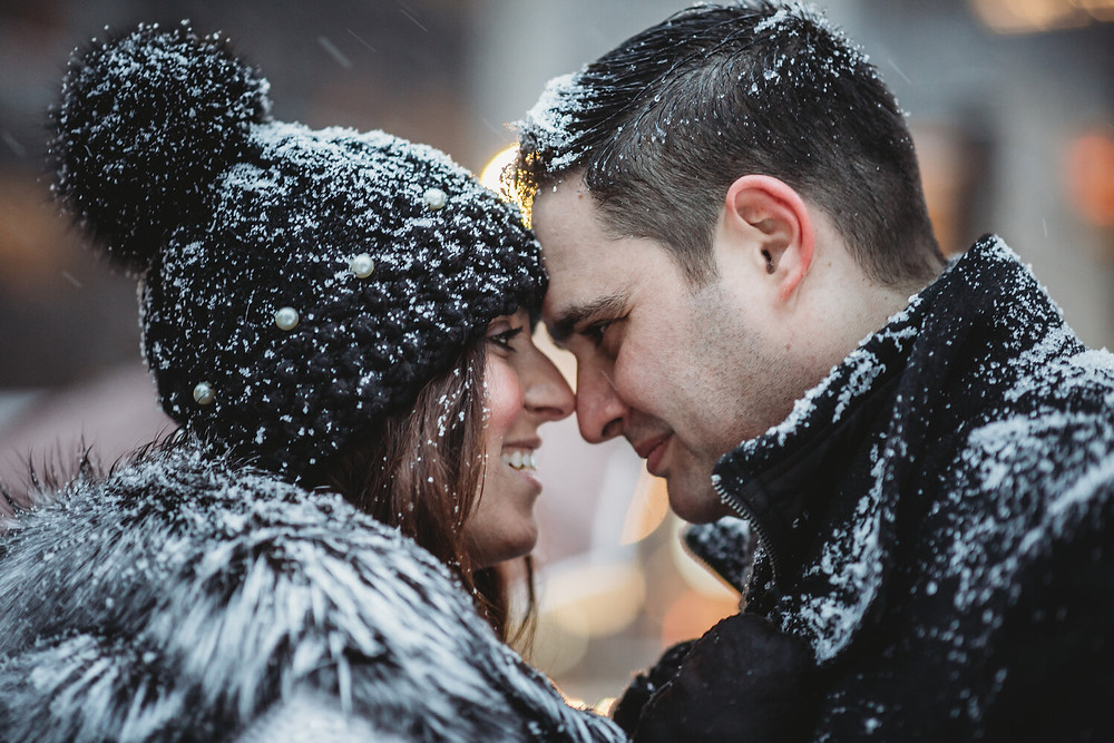 engagement photosession in nyc