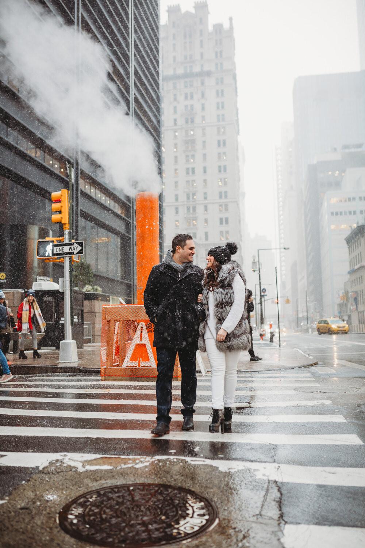 couple photoshoot in new york