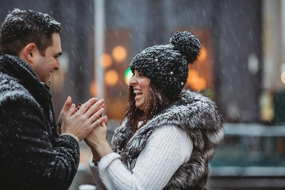 engagement photoshoot in new york