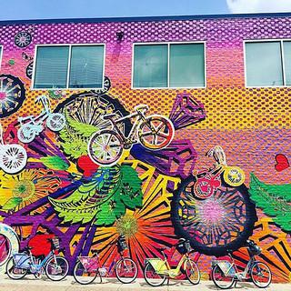 Pedal Powering Public Mural- Philadelphia