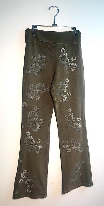 Size M Stonewashed Gemstone Streatch Pants