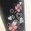 Thumbnail: Size M Navy Peach Blossom & Gemstone Yoga/Loungewear Pants