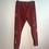 Thumbnail: Size S Cranberry Dripping Blossom Lounge Wear Streatch Pants