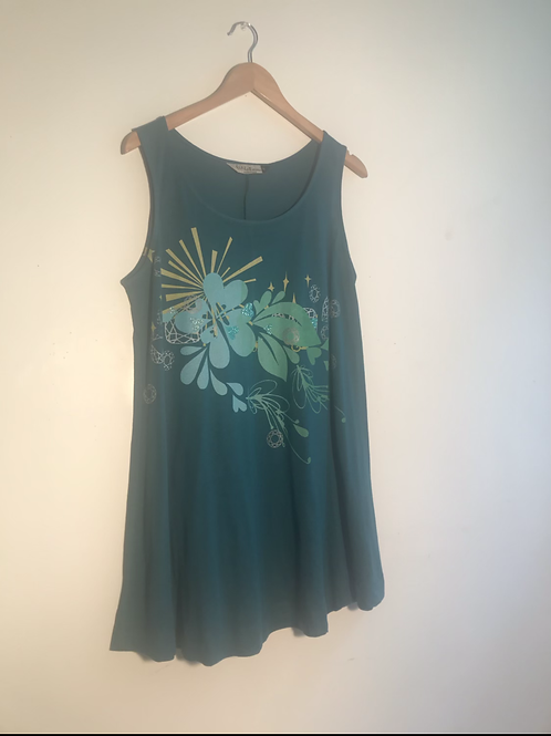 Size M Teal tank