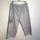 Thumbnail: Size XL Cropped Heather Grey Blooming Peach with Leaves Loungewear