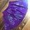 Thumbnail: Size S Purple circle skirt