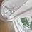 Thumbnail: Size L Art to wear screenprinted starburst & leaf tshirt