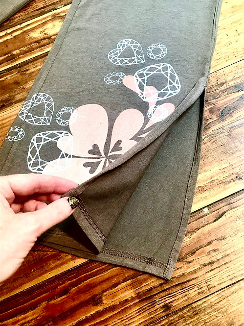 XS Peach Bloom Lounge Pants