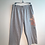 Thumbnail: Size XL Grey Cropped Lounge Pants with Peachbloom Embellishments