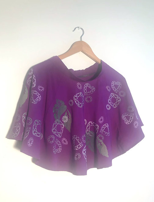 Size S Purple circle skirt