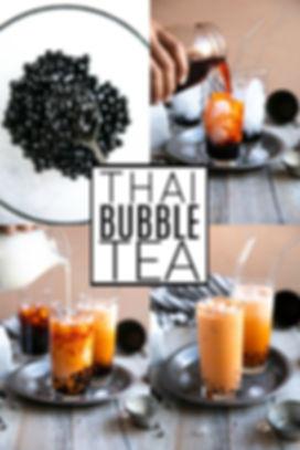 Boba Tea Recipe (How to Make Thai Bubble