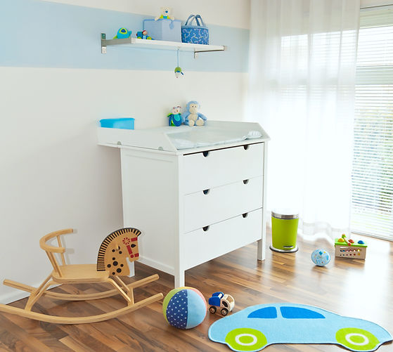 custom cabinetry in Calgary for Baby Room