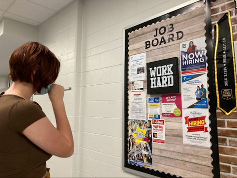 Job board provides numerous opportunities for students