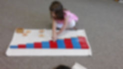 Preschool Montessori Math Work