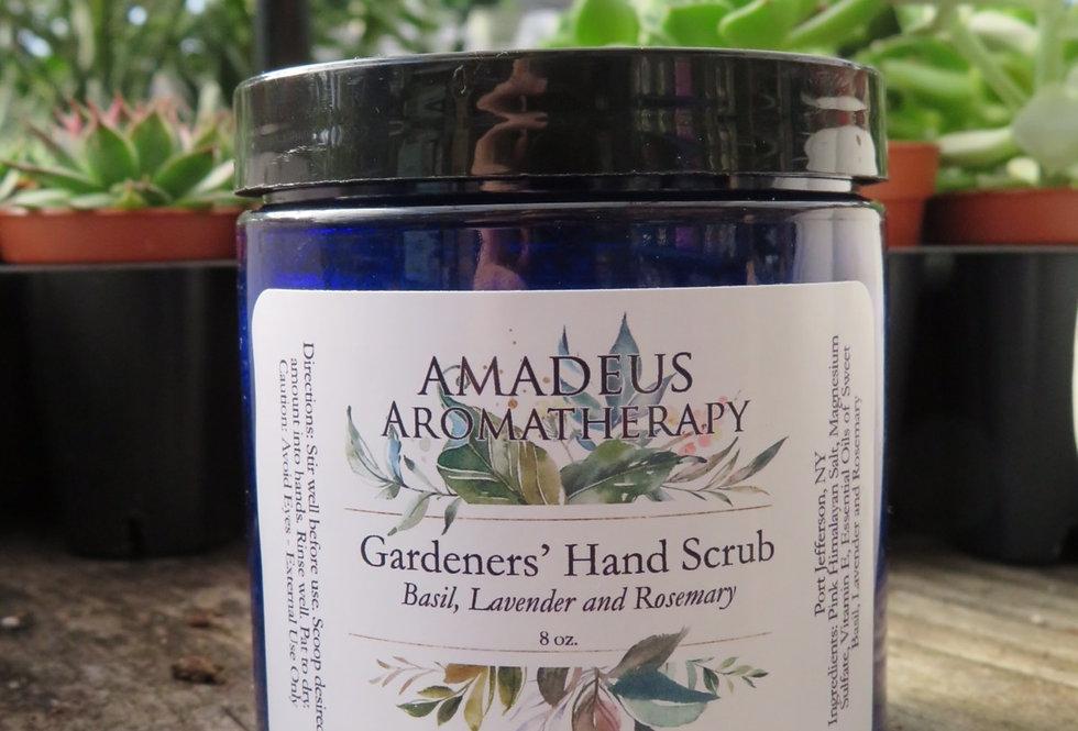 Gardener's Hand Scrub Basil and Rosemary