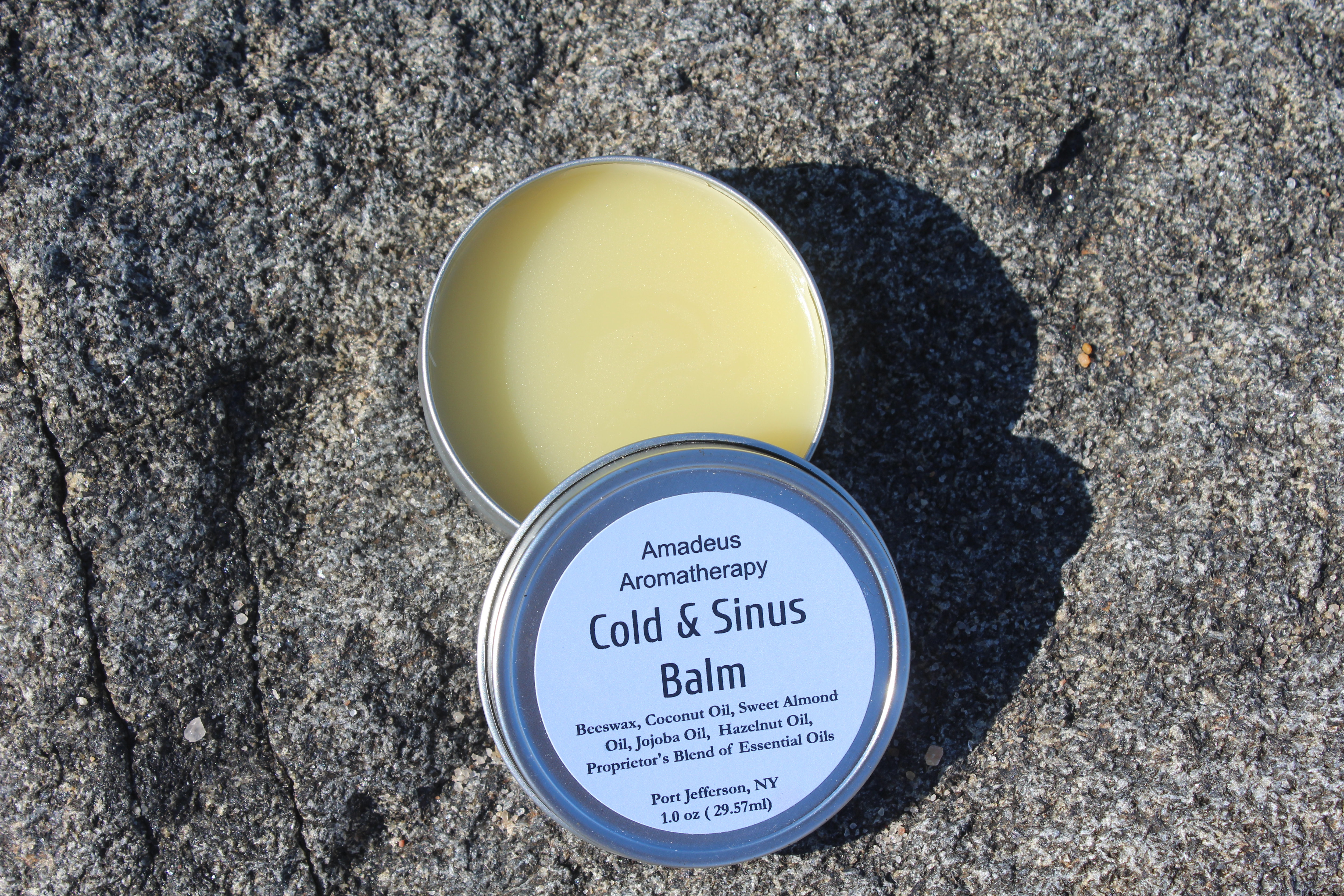 Cold and Sinus Body Balm