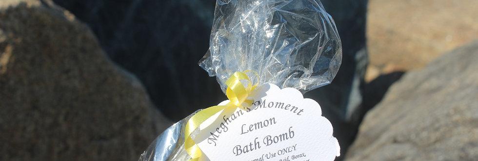 Lemon Bath Bomb
