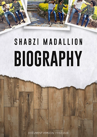 ShabZi Madallion Biography