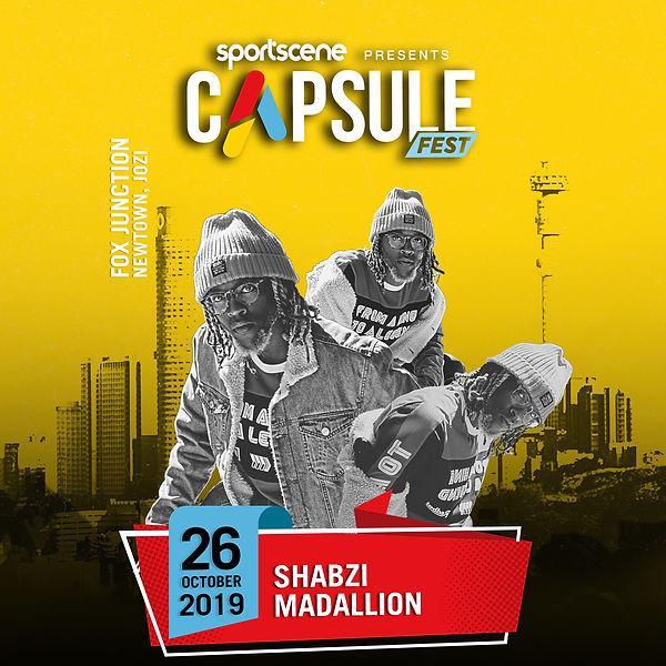 ShabZi Madallion Sportscene Caspsule 108