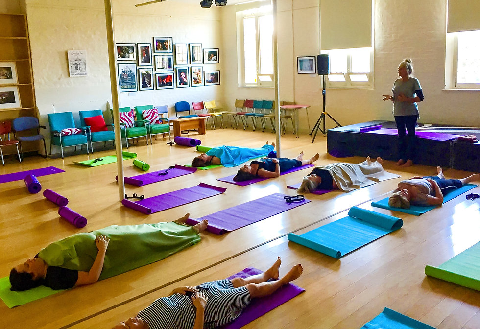 Lunchtime Yoga at the Kickstart Arts Centre