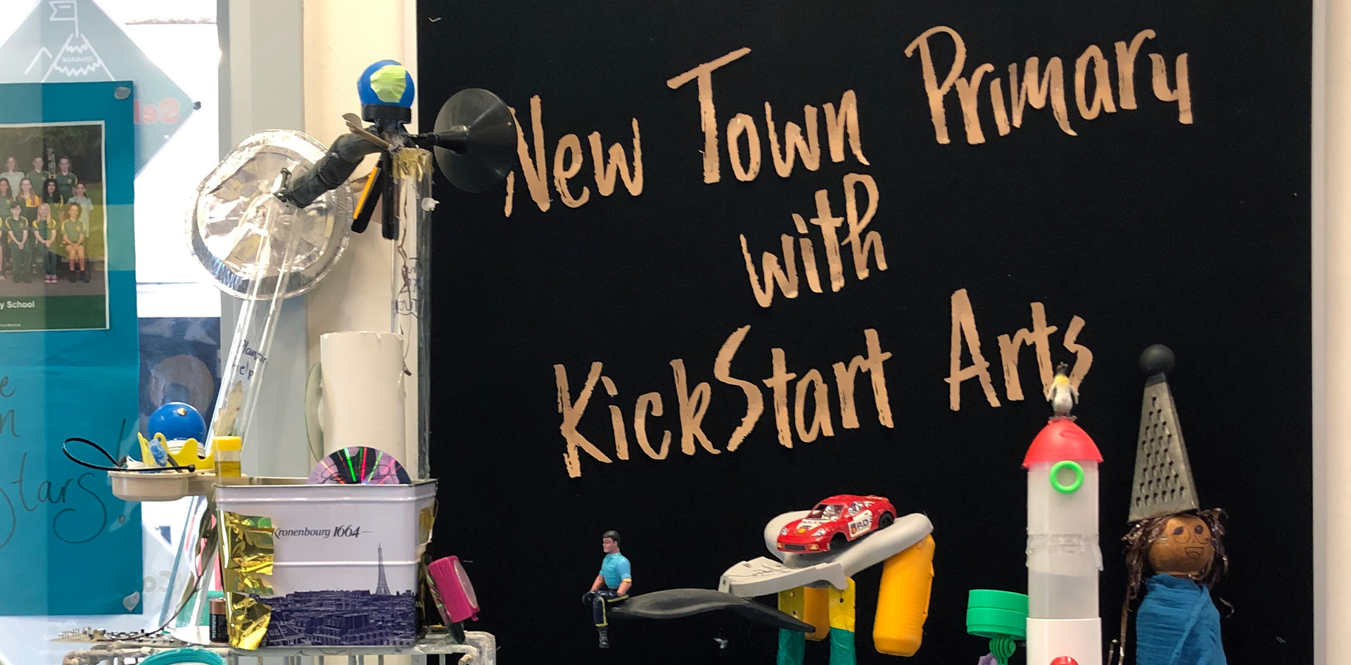 New Town Primary and Kickstart Arts