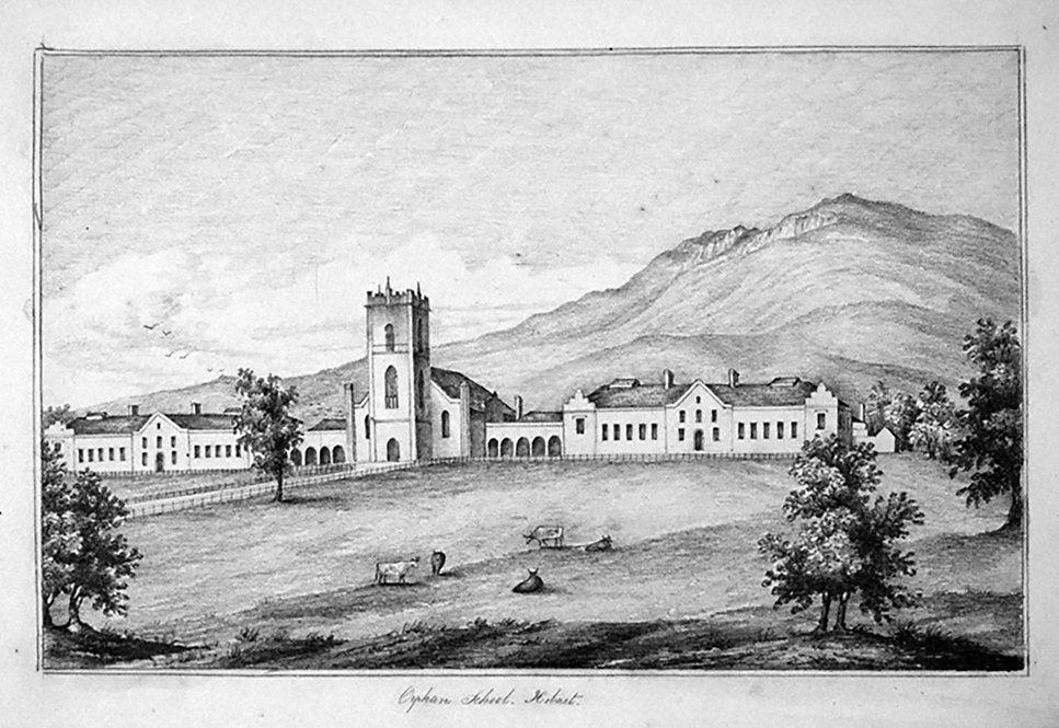 Original Drawing of the Orphan School