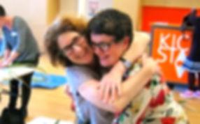 Social connection at Kickstart Arts