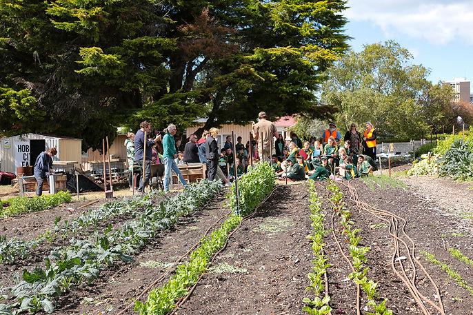 New Town kids at Hobart City Farm.jpg