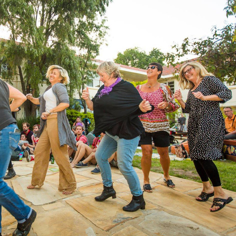 Dance and be social: Bringing people together.