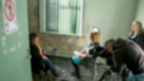 Disturbing Echoes Cheryl being interviewed