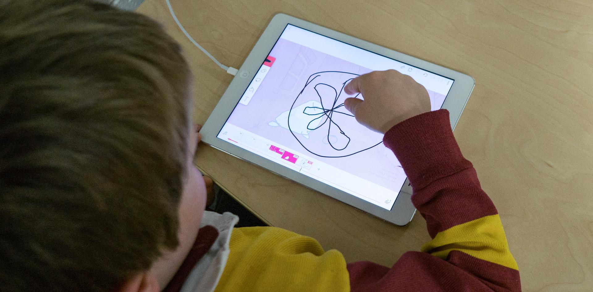 Digital Literacy in action.