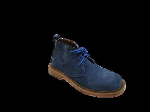 Safari Ladies Vellies Ankle Boot - Blue