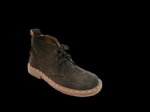 Safari Ladies Vellies Ankle Boot - Brown