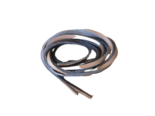 Leather Shoe Laces - Tan (1m)