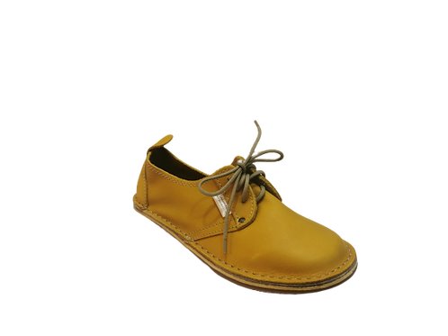 Zillah Ladies Vellies  - Mustard Yellow