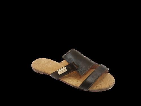 Eve Slip In Sandal - Brown