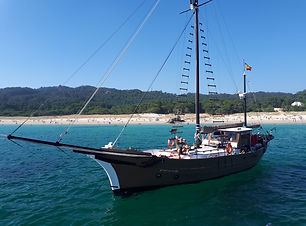 Goleta Charter Maregalia Vigo
