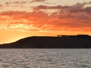 isla de Islas Ons, puesta de sol