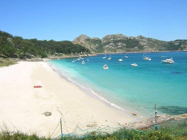 Islas Cíes con Maregalia San Yago Charter
