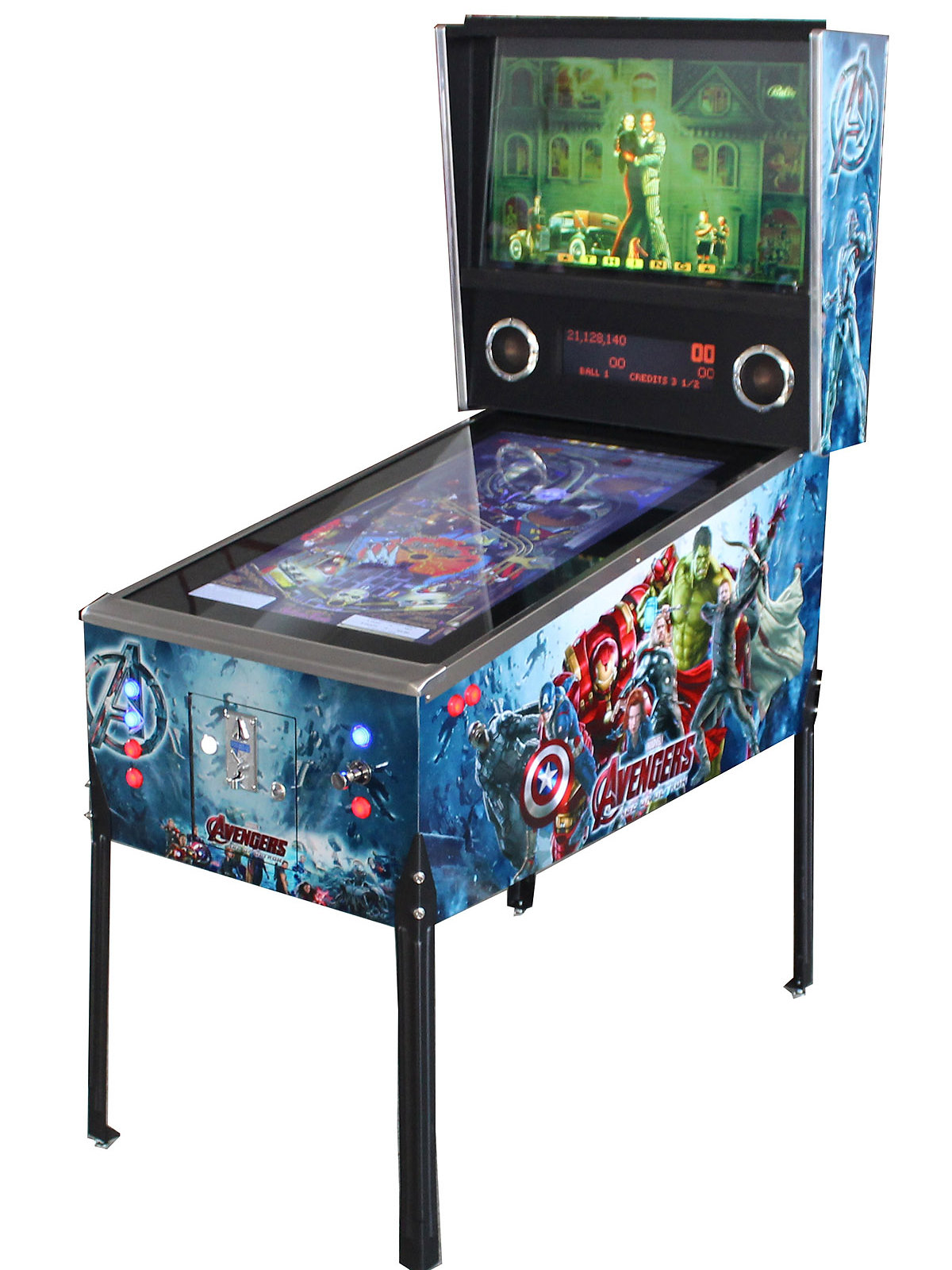 Xsite arcade virtual reality gaming virtual pinball machine this virtual pinball game machine is a full size full digital pinball machine which offers multiple tables at the push of a button gamestrikefo Images