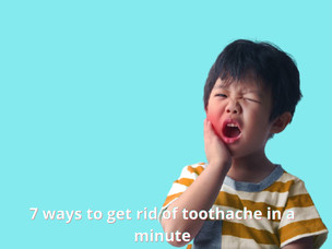 7 ways to kill toothache in a minute