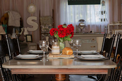 Country Chic Table Piece