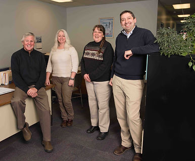 Office staff at Lahey Insurance in Potsdam New York
