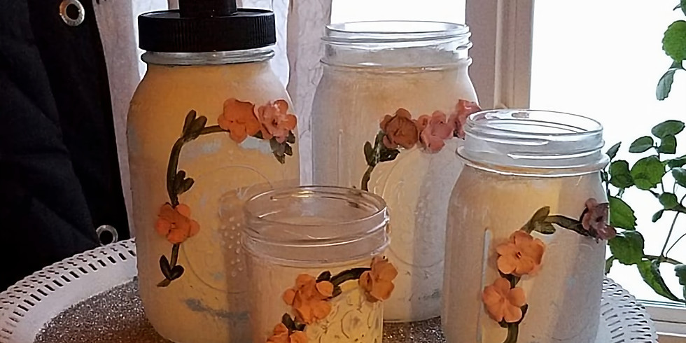 Mason Jar Home Decor Workshop