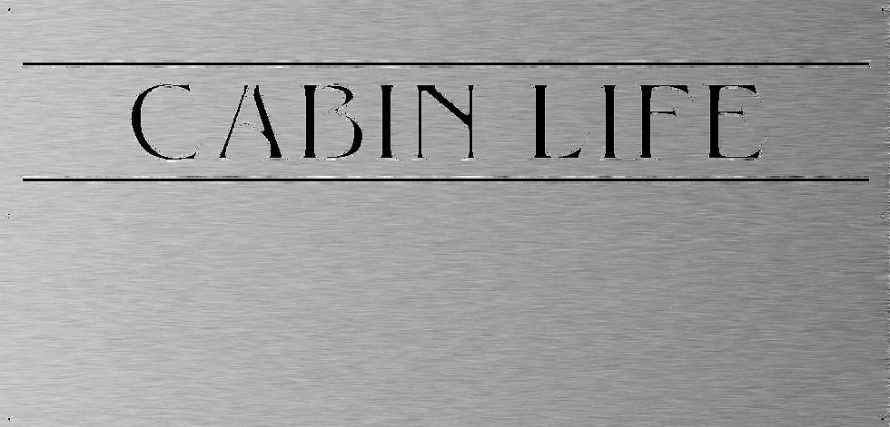Cabin Life Panel
